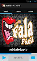 Screenshot of Rádio Fala Fácil