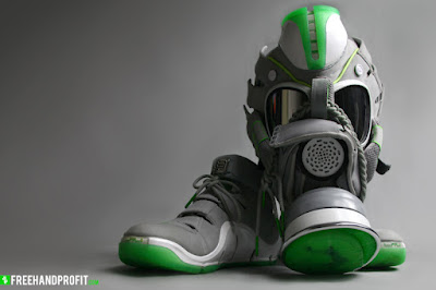 news lebron4 dunkman gas mask 6 LeBron IV Dunkman Inspired Gas Mask By Freehand Profit