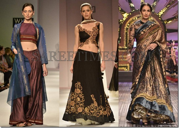 WLIFW_Spring_Summer_2013_Lehenga_Sarees