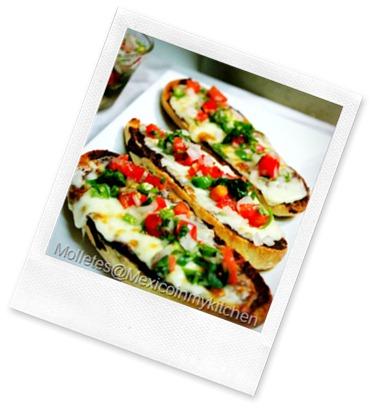 MOLLETES mexican recipe @mexicoinmykitchen