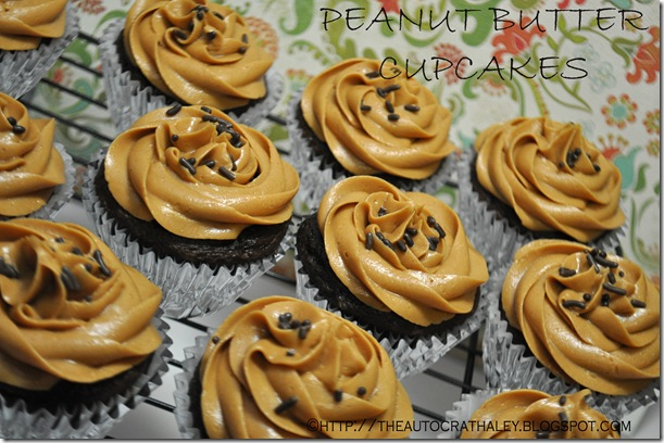 PEANUT BUTTER CUPCAKES
