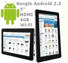 Tablet 7 Android HDMI GPS 3G Wi-fi