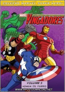 4f54b0a49f0f8 Os Vingadores   Homem de Ferro!   Volume 3 Dublado RMVB + AVI DVDRip