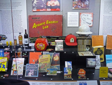 Atomic Museum Display