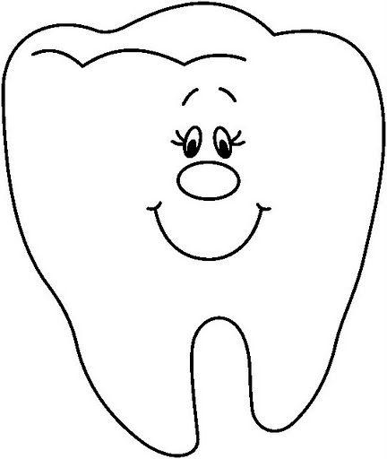 Caries Dental Dibujos Para Colorear Dibujos Para Colorear Muelas
