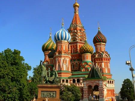 Circuit Rusia: Biserica Sf. Vasile - Piata Rosie Moscova