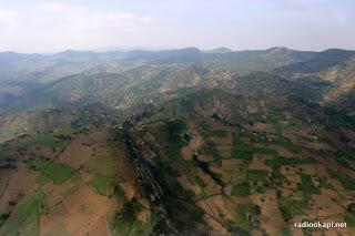 Les montagnes du Sud Kivu, 2004.