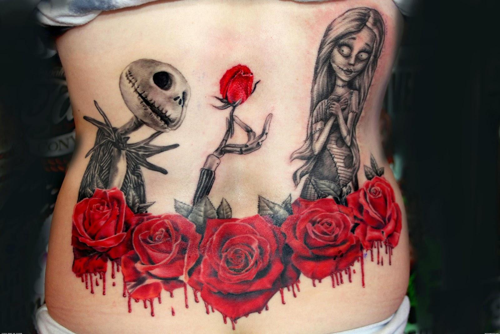 UV Ink: Blacklight Tattoo Designs: Mirek vel Stotker Nightmare ...