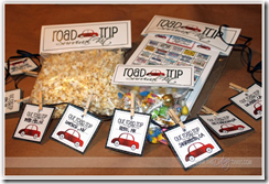 road trip timeline and other printables