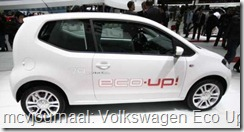 2012 Autosalon Geneve - Volkswagen Eco Up!