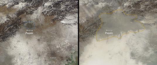 Poluição atmosférica em PequimA