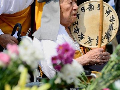 Hiroshima lembra 68º aniversário de ataque nuclear (Foto: Toru Yamanaka/AFP)