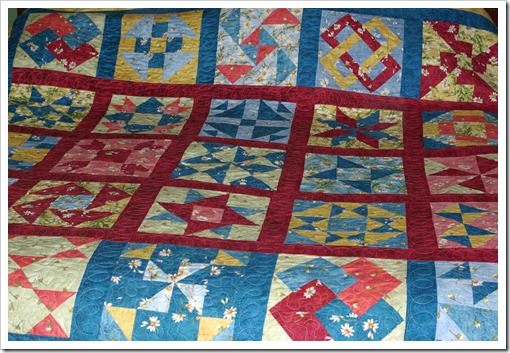 Mom's Block of the Month Quilt