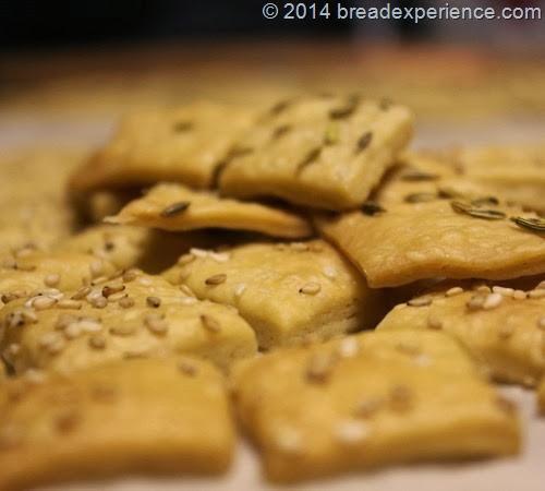 Sourdough KAMUT Crackers