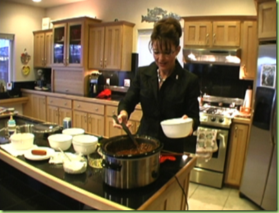 palin serves up her moose chili
