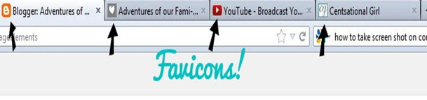 screen shot what is a favicon