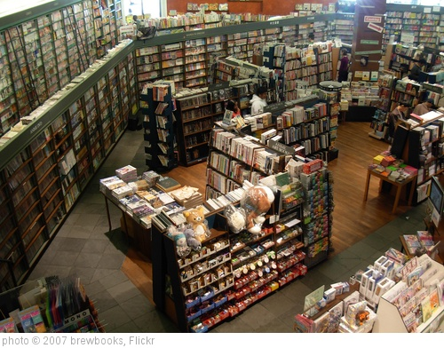 'Kinokuniya Book Store -Seattle International District' photo (c) 2007, brewbooks - license: http://creativecommons.org/licenses/by-sa/2.0/
