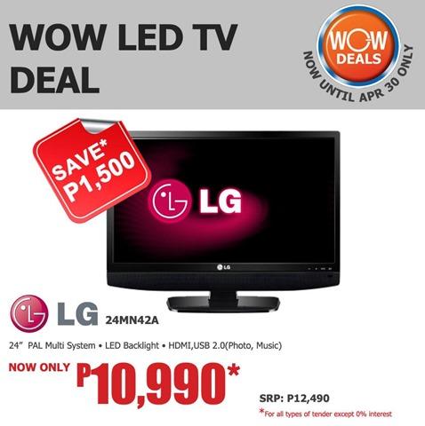 SM Appliance Promo LG 24