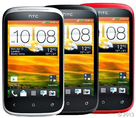 Gambar HTC desire C