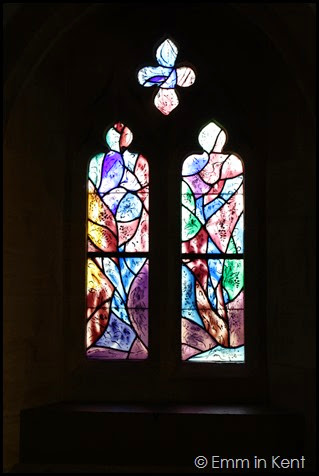 Chagall Creation, All Saints Tudeley