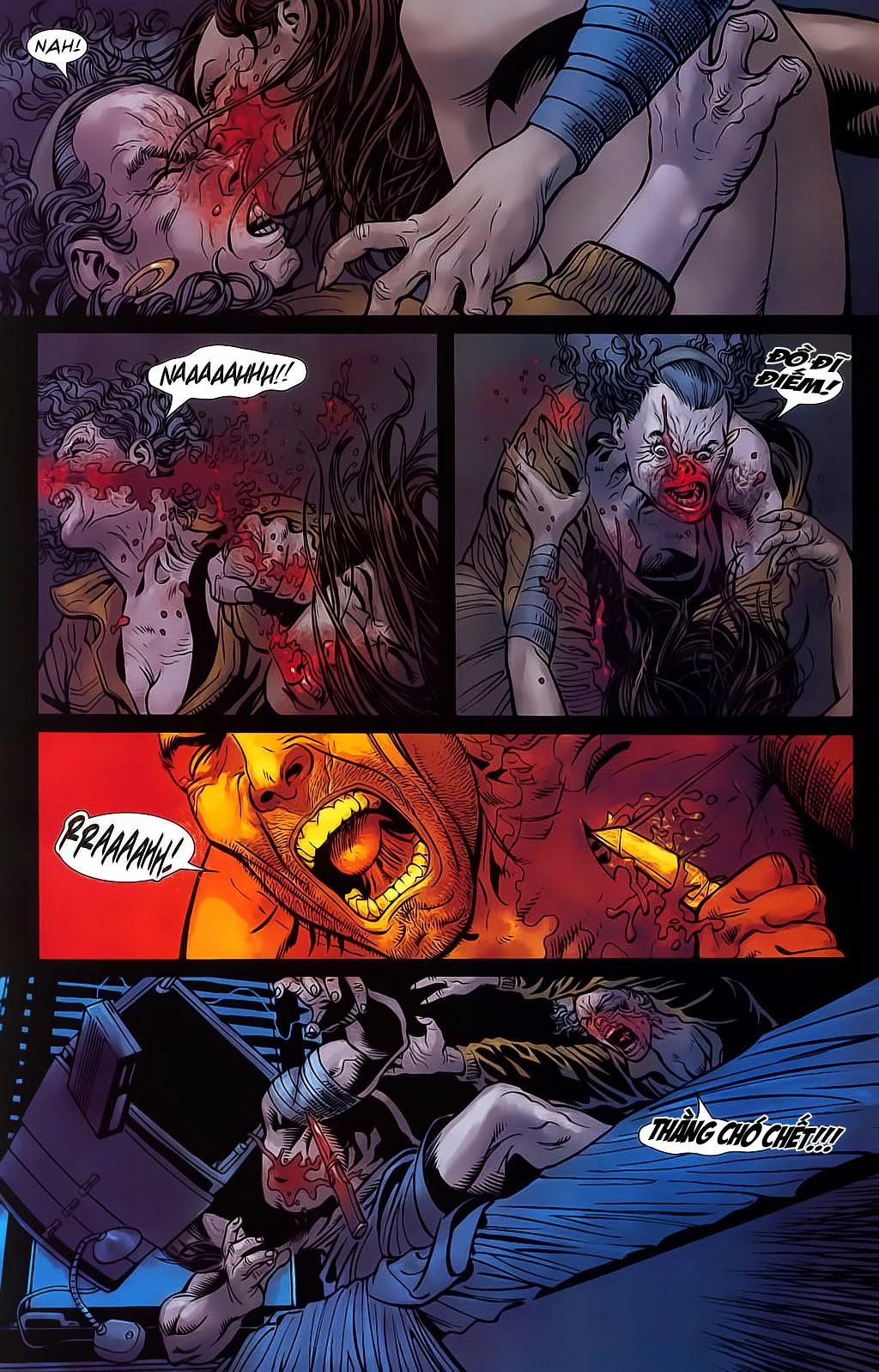 The Punisher: Trên là Dưới & Trắng là Đen chap 6 - Trang 7