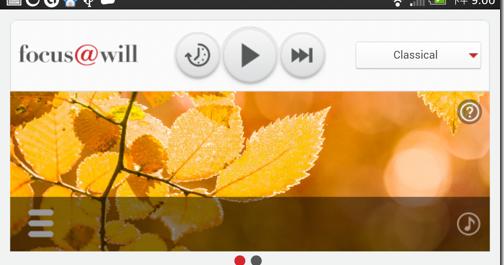 Focus@will 集中注意力音樂電台 Android iOS 網頁跨平台