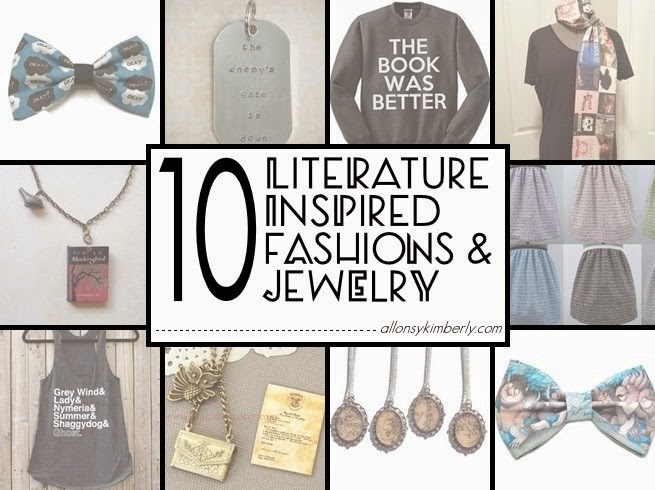 10 Literature Inspired Fashions & Jewelry (Fangirl Fashions ed. 33) | allosykimberly.com