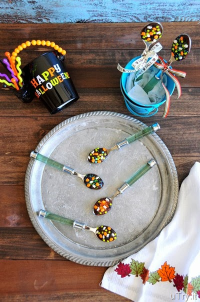 Halloween Party Spoons