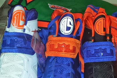 nike zoom soldier 7 pe amare stoudemire knicks 1 01 Amare Stoudemire Wears 1 of his 3 Soldier VII New York Knicks PEs