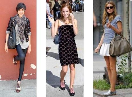 looks oxford sapatos moda como usar
