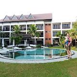 Hotellet og poolen i Hoi An, ahhhh
