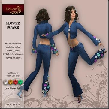 DANIELLE Flower Power'