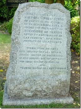 12 commemorating first general synod 673AD