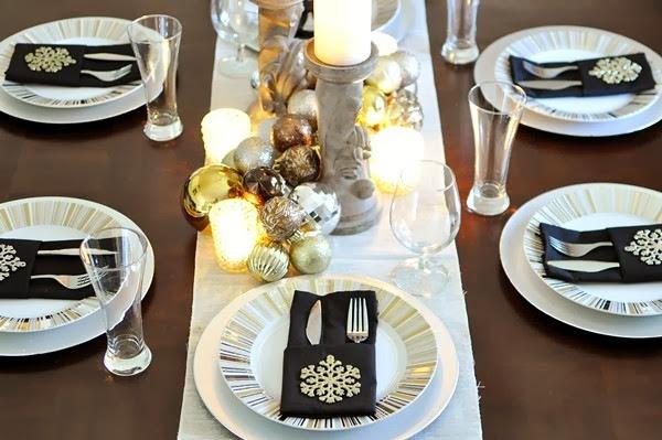 #HomeDepotStyleChallenge Merry Metallics by MonicaWantsIt.com