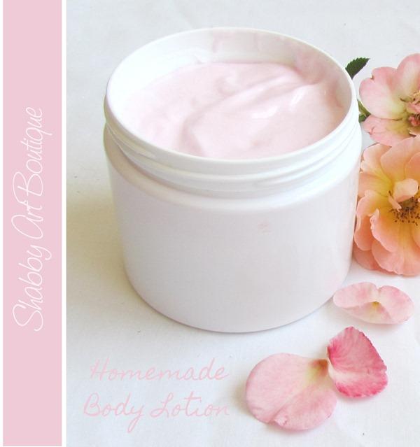 homemade body lotion 6
