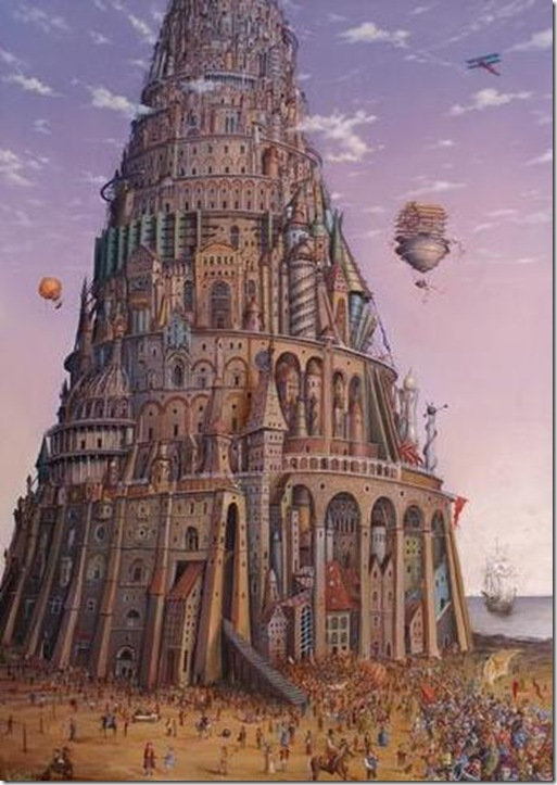 Uroczyste otwarcie Wieży Babel