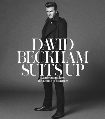 Beckham by Paul Wetherell for The WSJ Magazine, October 2011.  Styled by David Farber.