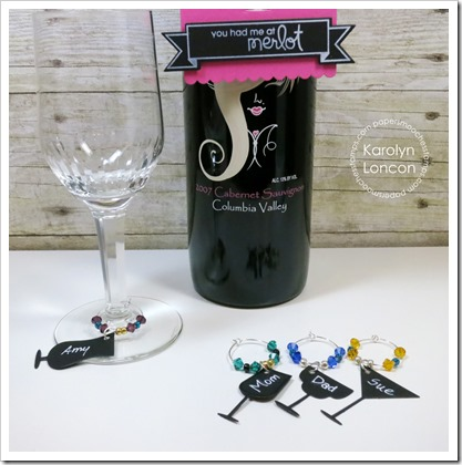 Karolyn - Free Spirits Wine Charms