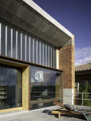 Fachadas-modernas-madera-hormigon