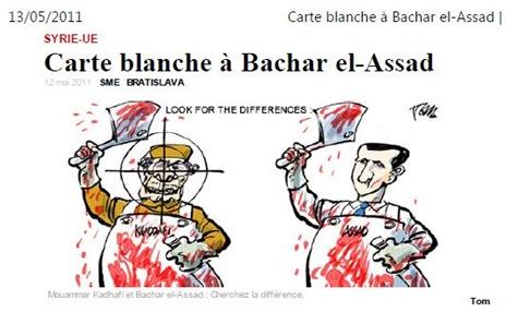 Carta Blanca a Bachar el-Assad