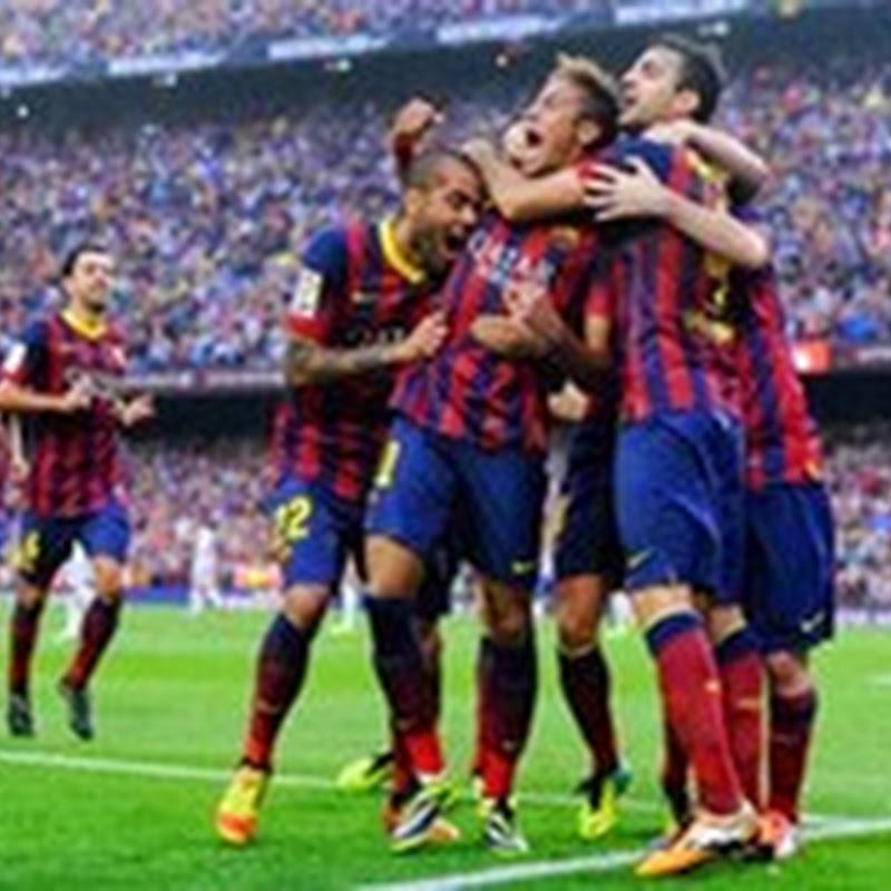 Barcelona VS Real Madrid (2-1) : Video Hasil La Liga Spanyol (27 Oktober 2013)