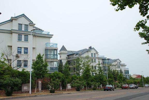 Qingdao - Petits immeubles