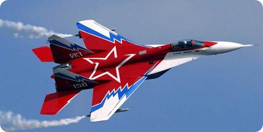 aviación rusa