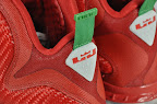 nike lebron 9 gr christmas 2 05 Throwback Thursday: Look Back at LBJs 2011 Christmas Shoes
