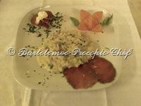 risotto bresaola e scamorza