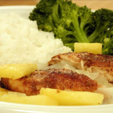 fresh pineapple chicken