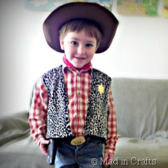 Diy toy story costumes on a budget mad in crafts homemade toy story costumes square solutioingenieria Images