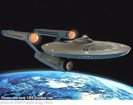 'New CGI version of Star Trek's USS Enterprise' photo (c) 2006, Purple Slog - license: https://creativecommons.org/licenses/by/2.0/
