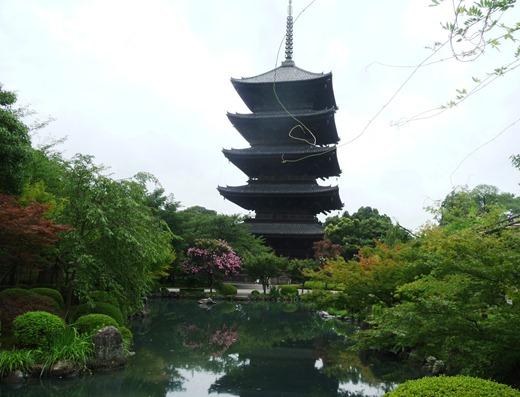 Japão - templo Toji - pagode- Glória Ishizaka