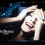 de beers ad in Kyoto, Kyoto, Japan